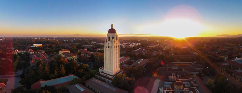 Sunrise at Stanford University