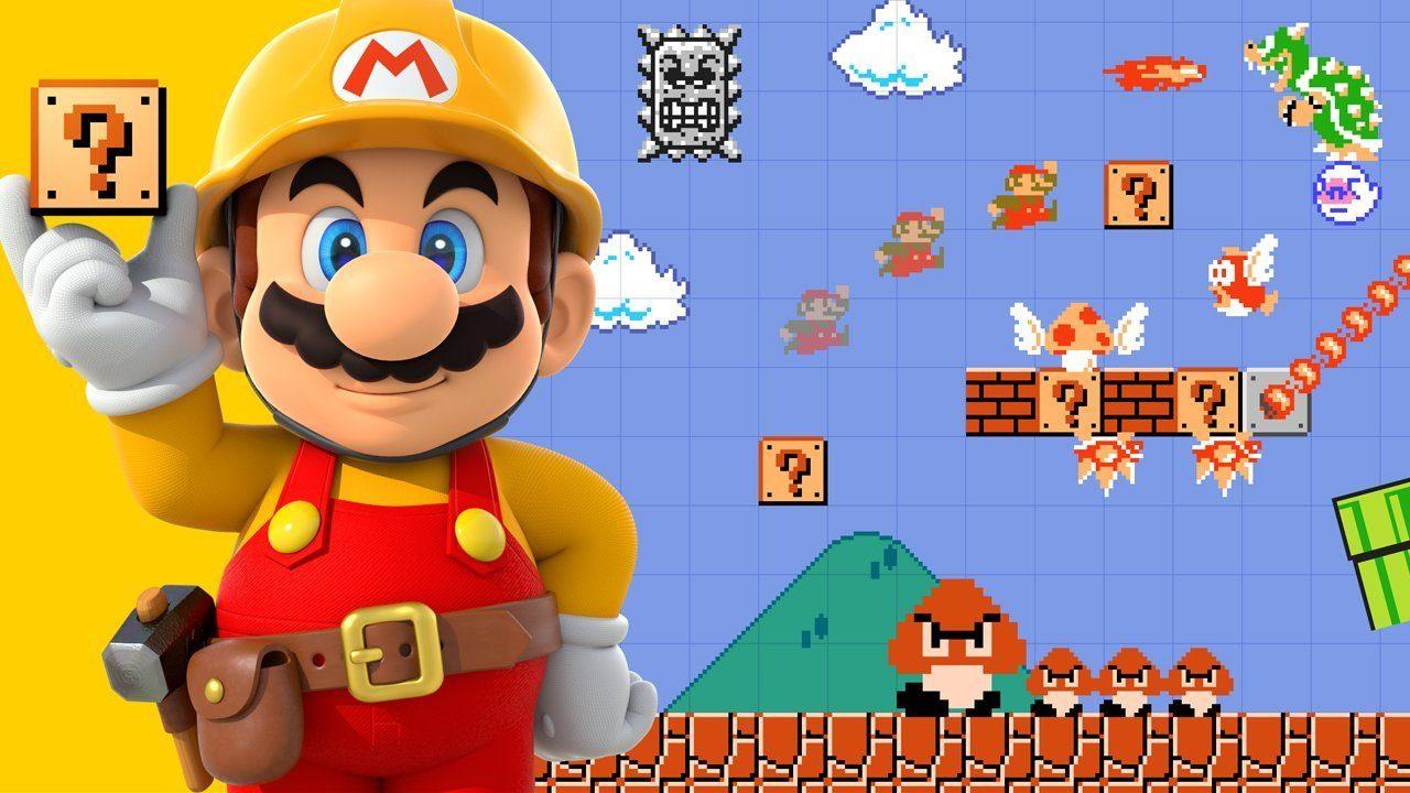 Making Mario levels in Super Mario Maker