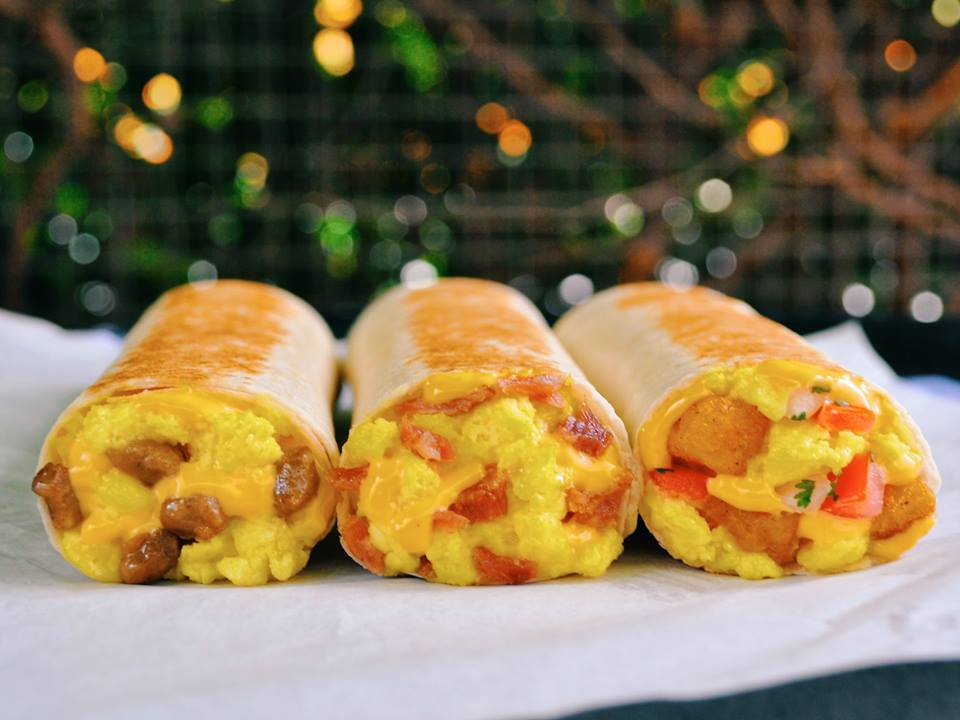 Taco Bell Grilled Breakfast Burritos