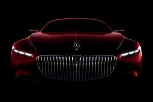 Vision Mercedes-Maybach 6 Concept Teased Ahead of Monterey Debut