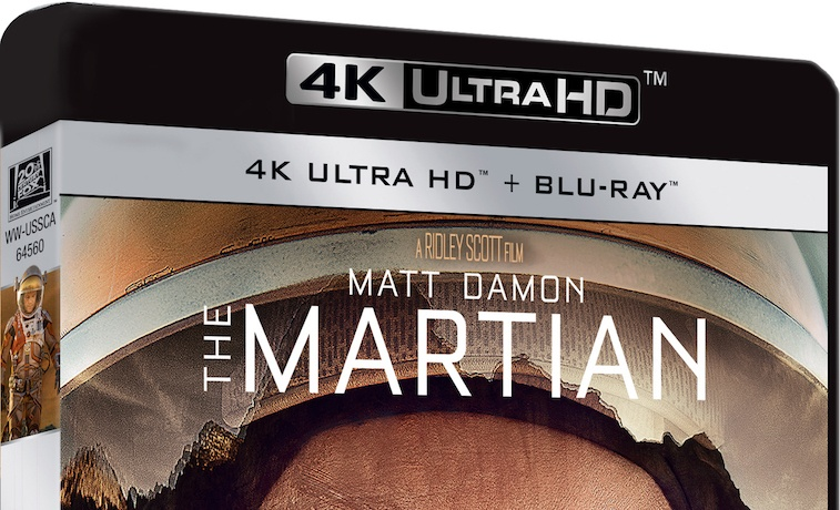 'The Martian' on UHD Blu-ray