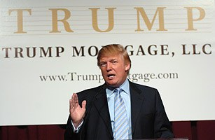 Announcement of Trump Mortgage