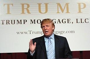 Announcement of Trump Mortgage