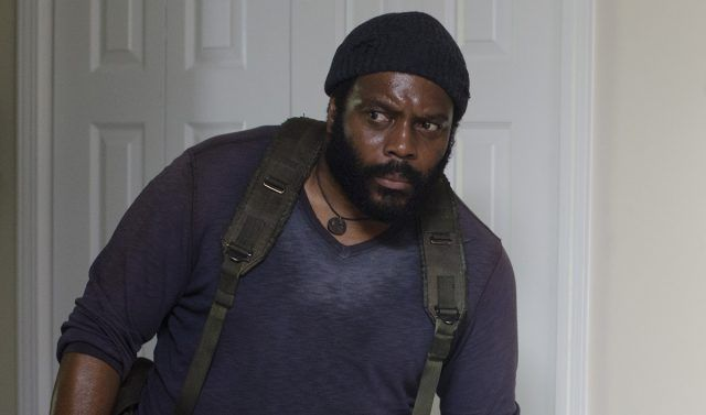 Tyreese (Chad Coleman) in a scene from AMC's 'The Walking Dead'