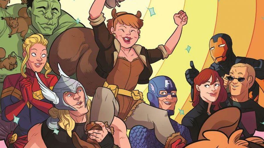 Unbeatable Squirrel Girl comic book image