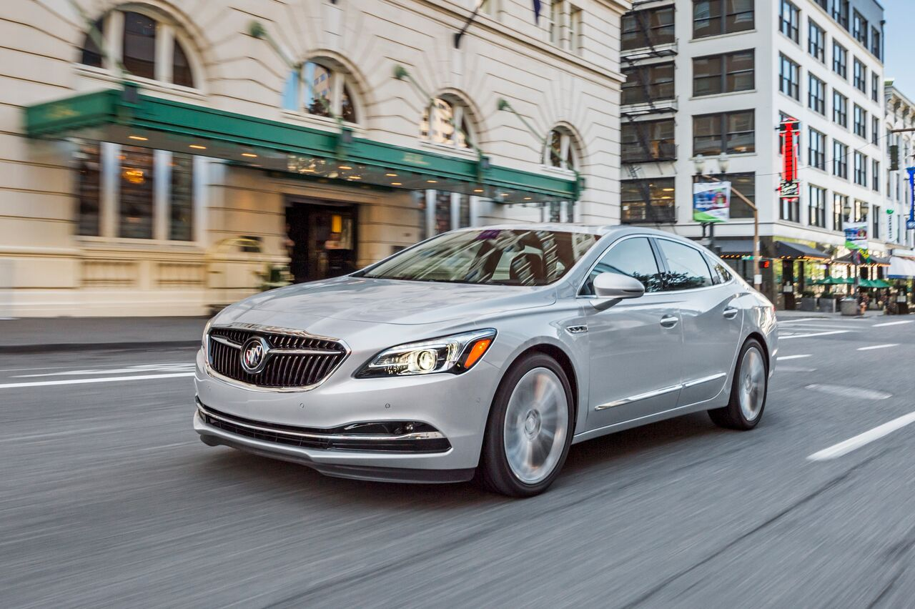 2017 Buick LaCrosse| Source: Buick