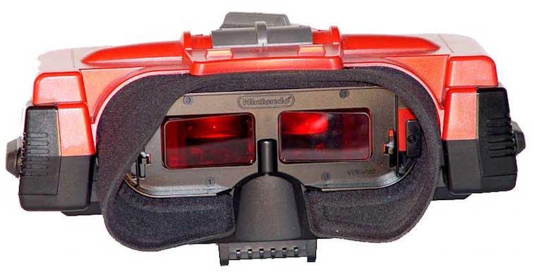 The Virtual Boy headset
