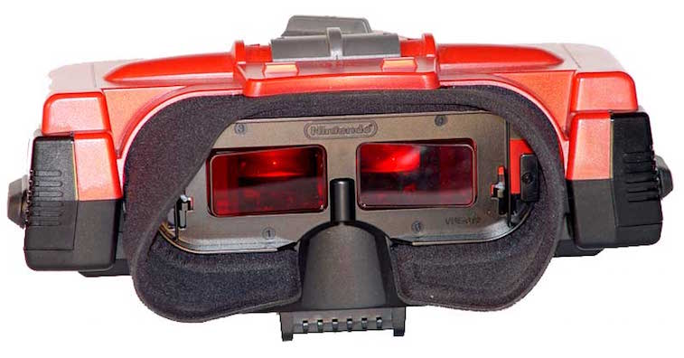The Virtual Boy headset