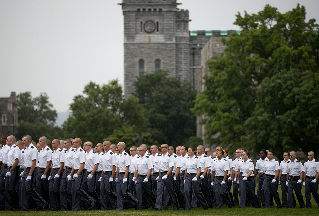 west point cadets from the military academy