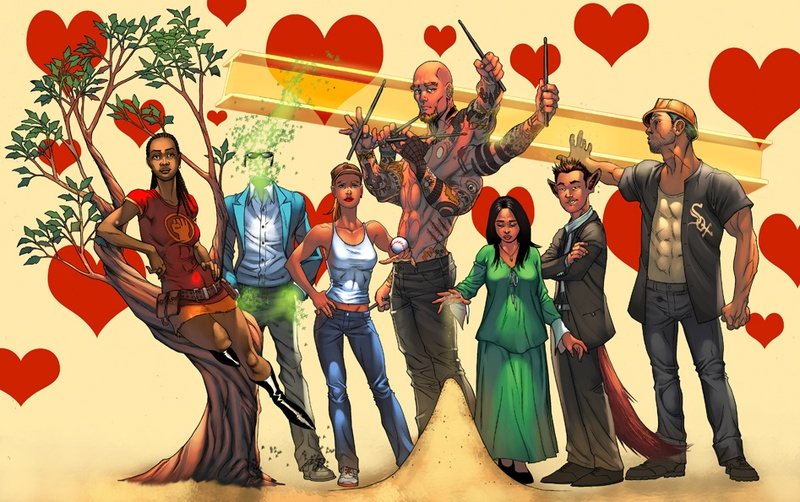 Wild Cards Graphic Novel