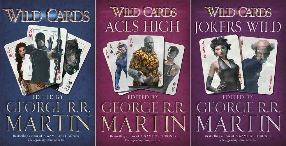 Wild Cards Series - Bantam Books
