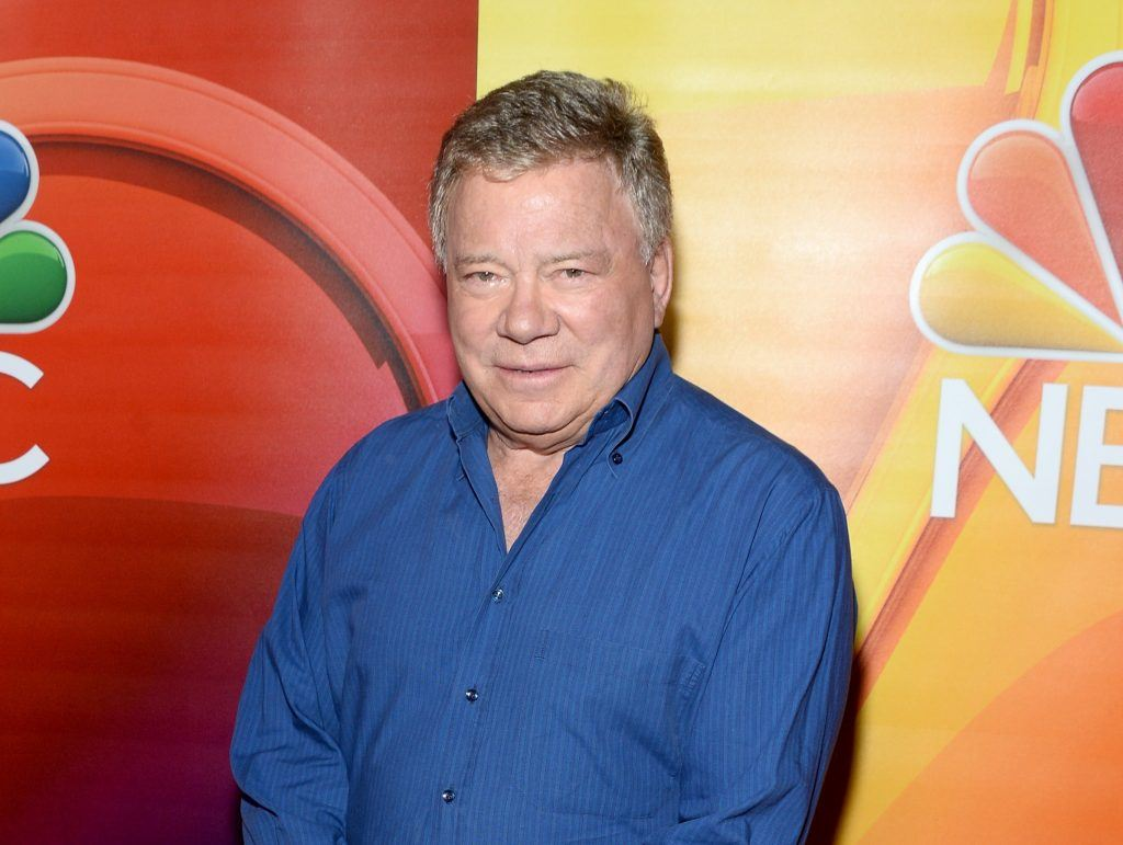 Hollywood celebrity William Shatner