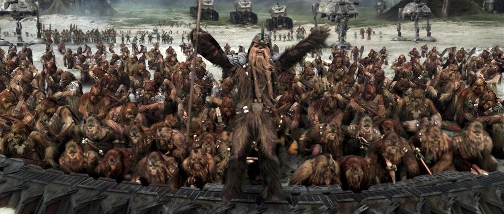 Wookies in Star Wars: Revenge of the Sith