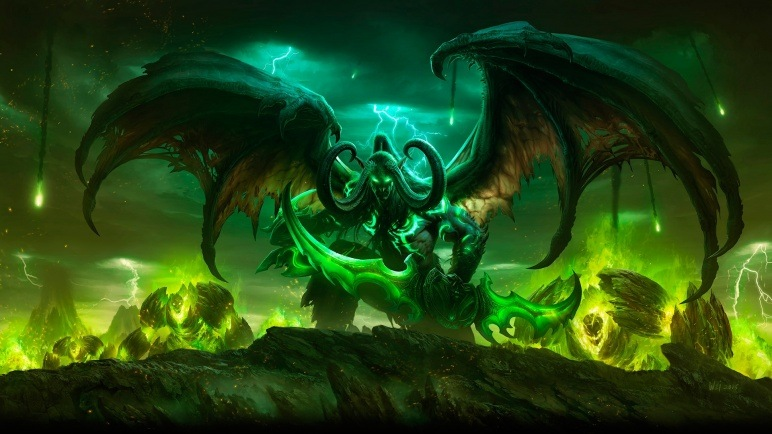 Cover art for World of Warcraft: Legion