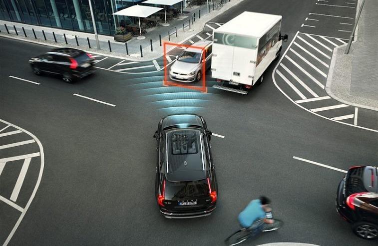 Volvo's autonomous safety tech