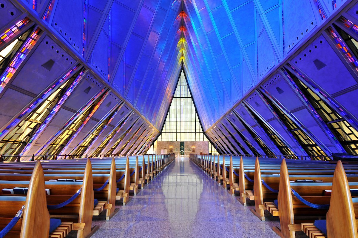 chapel at the United States Air Force Academy