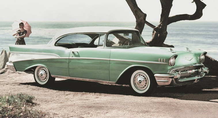 1957 Chevrolet Bel Air Sport Coupe/GM