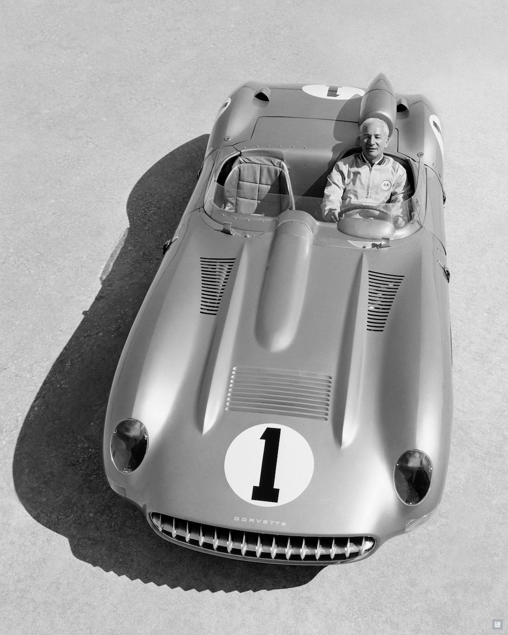 1957 Chevrolet Corvette SS Race Car Piloted by Zora Arkus-Duntov