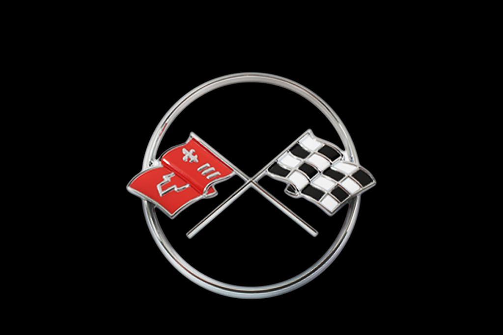 Corvette V8 symbol