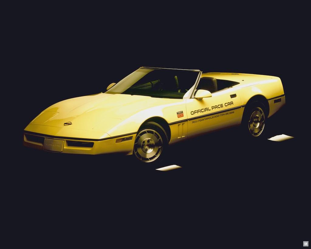 1986 Chevrolet Corvette Convertible Indianapolis 500 Pace Car