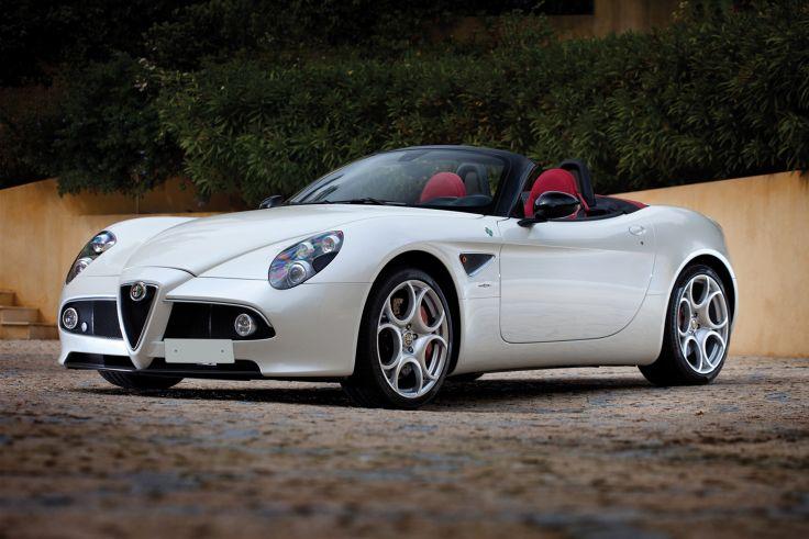 2010 Alfa Romeo 4C Spider Roadster