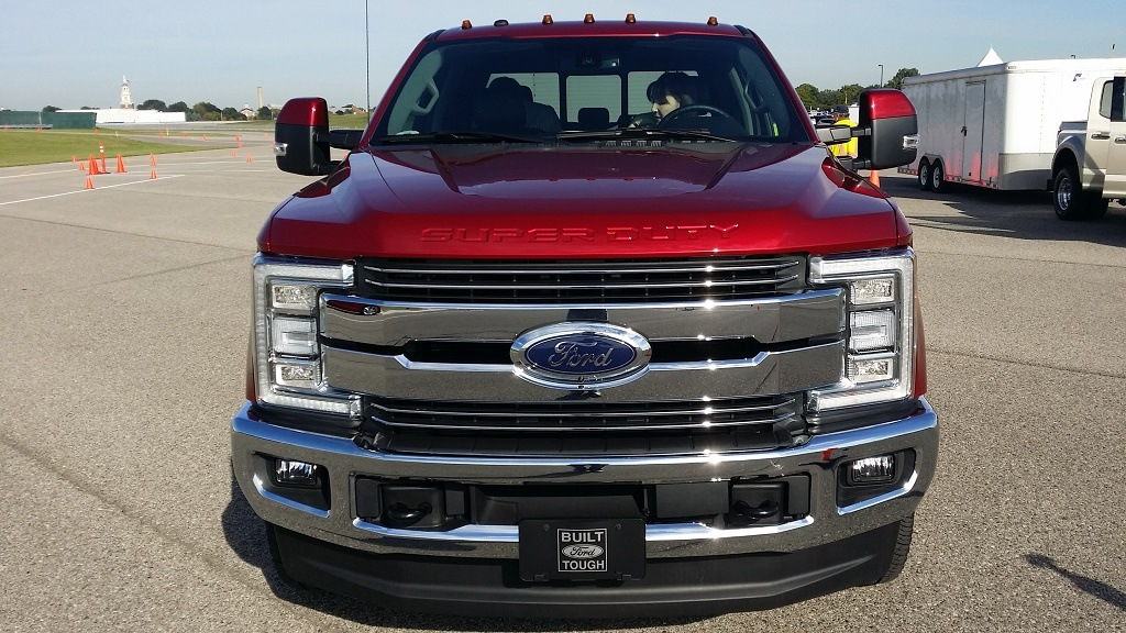 The 2017 Ford Super Duty pickup truck