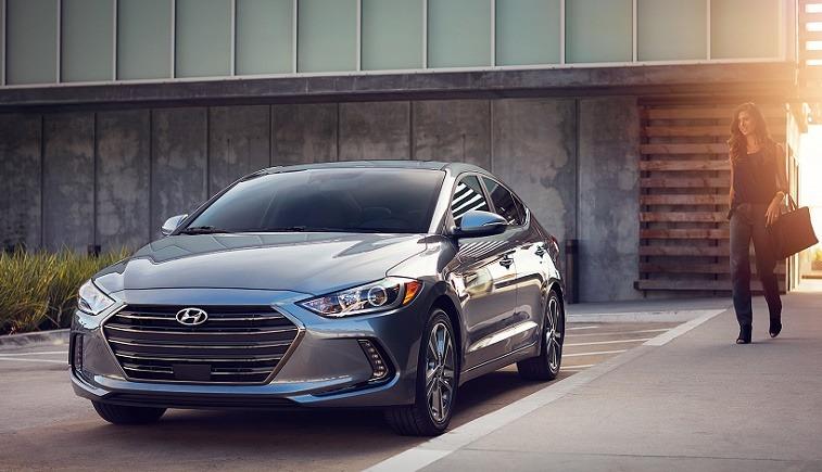 2017 Hyundai Elantra in Galactic Gray