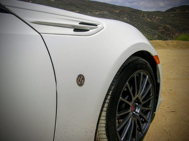 Toyota fender and forged wheels