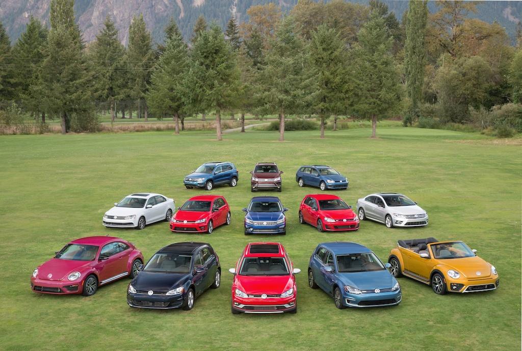 2017 Volkswagen lineup