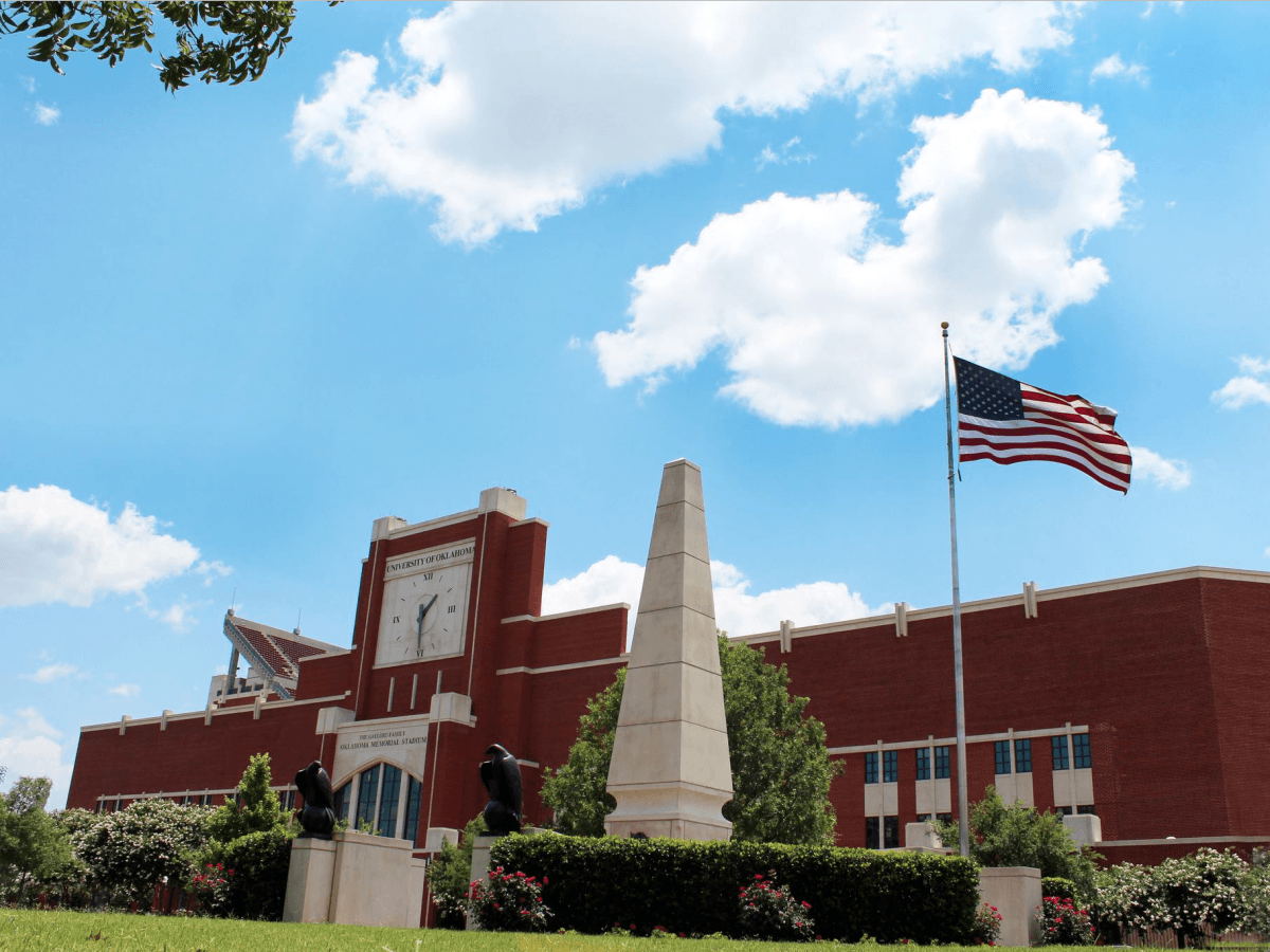 The University of Oklahoma campus in Norman