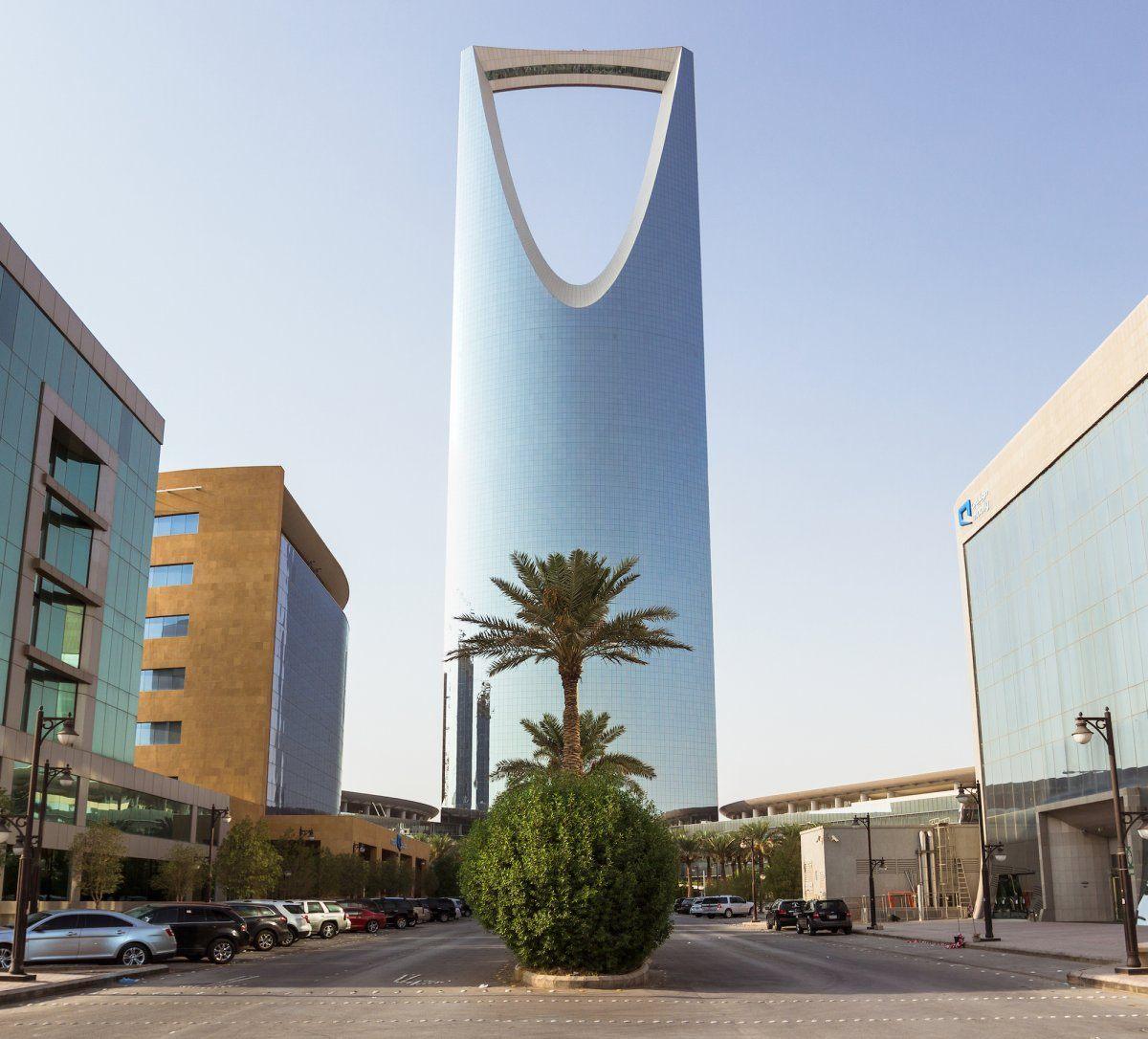 Skyscraper in Saudi Arabia