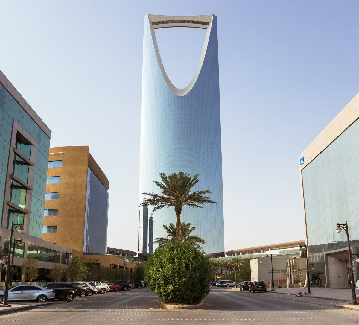 Skyscraper in Saudi Arabia