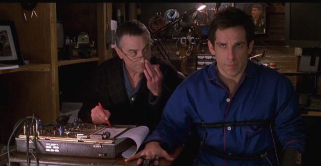 lie detector scene from Meet The Parents