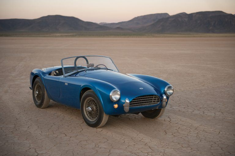 CSX2000, the first Shelby Cobra