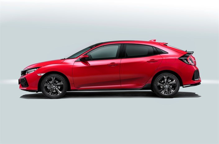 New UK-built Honda Civic unveiled and all set for export success