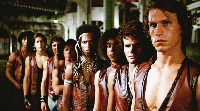 Scene from The Warriors