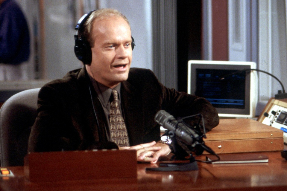 Kelsey Grammer one of the TV stars in Frasier | NBC