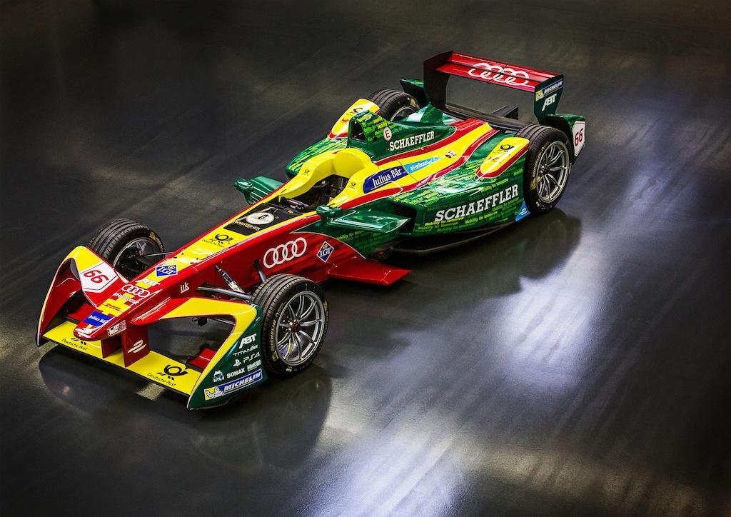 Audi Formula -E ABT Schaeffler FE02
