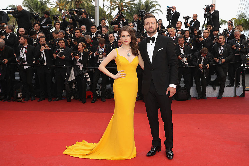 "Anna Kendrick and Justin Timberlake attend the ""Cafe Society"" premiere"