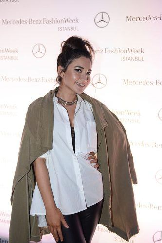 ISTANBUL, TURKEY - SEPTEMBER 27: Aysegul Kaplan attends the launch party for Mercedes-Benz Fashion Week Istanbul at Zorlu Center on September 27, 2016 in Istanbul, Turkey.