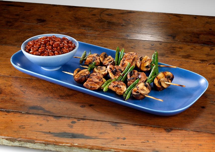 Asian BBQ Skewers | Bush's Best Beans