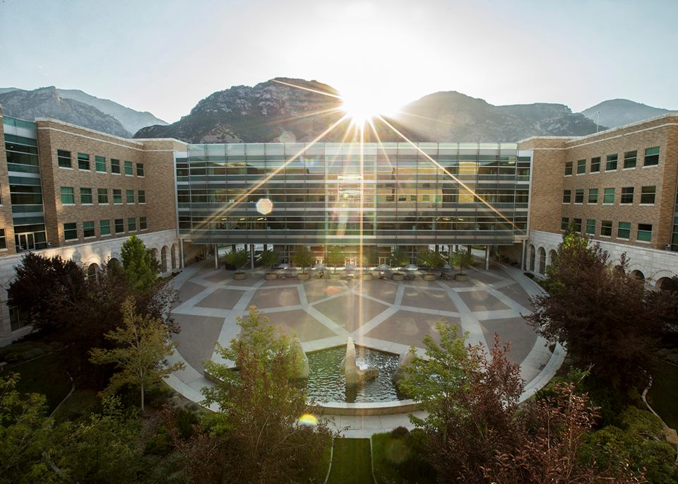 The Joseph F. Smith Building on the BYU campus, which topped the list of return on investment for colleges