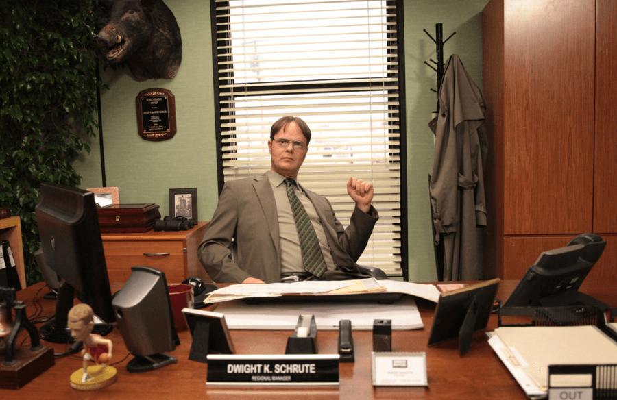 Dwight K. Schrute: Manager, Scranton branch