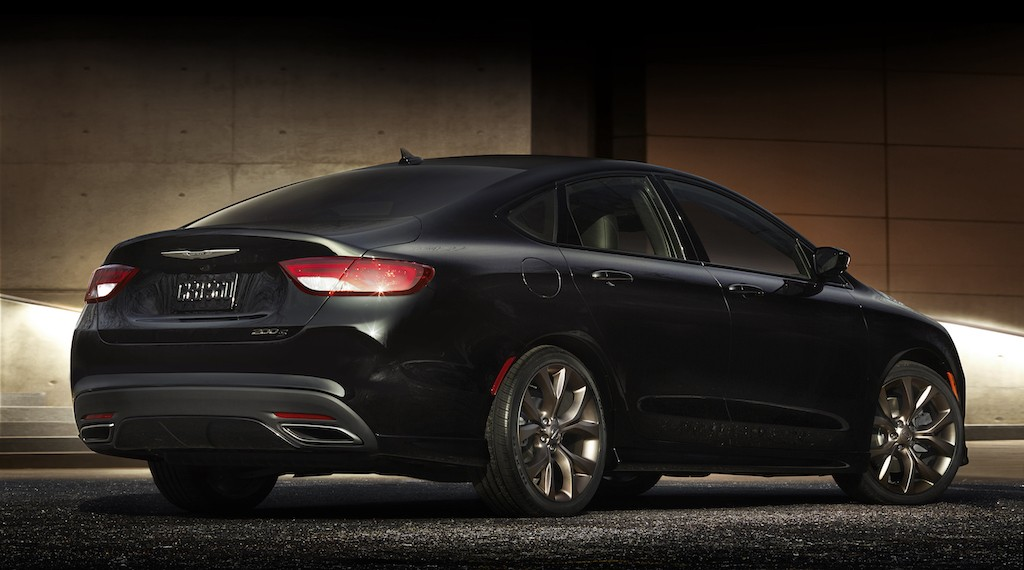 2017 Chrysler 200S