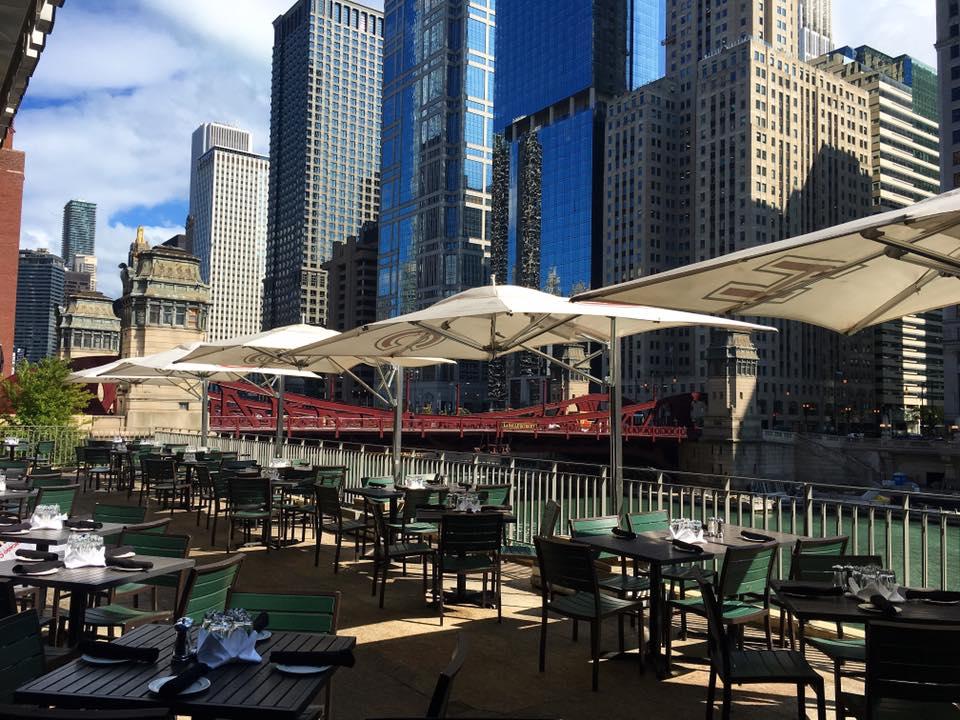 Chicago Cut Steakhouse patio