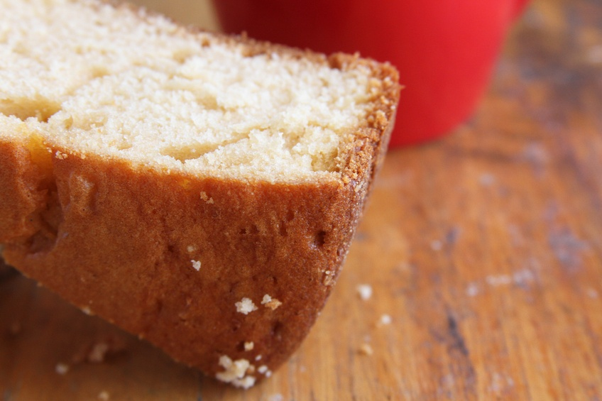 Brown butter cake