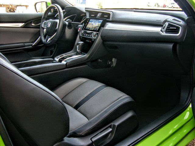 Civic Coupe interior