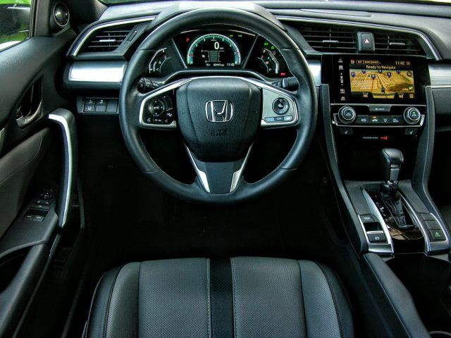 Civic Touring edition driver's seat