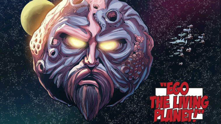 Ego the Living Planet Marvel Comics