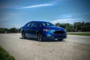 First Drive: Track Time in the 327-Horsepower Ford Fusion Sport
